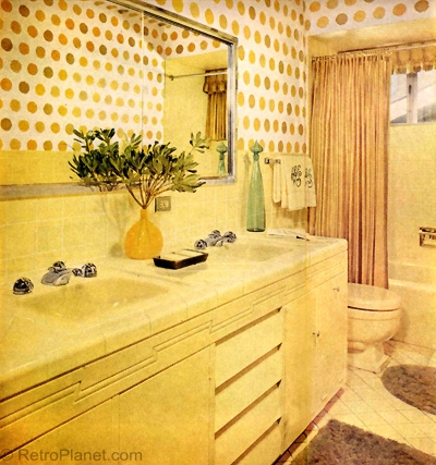 60s bathroom