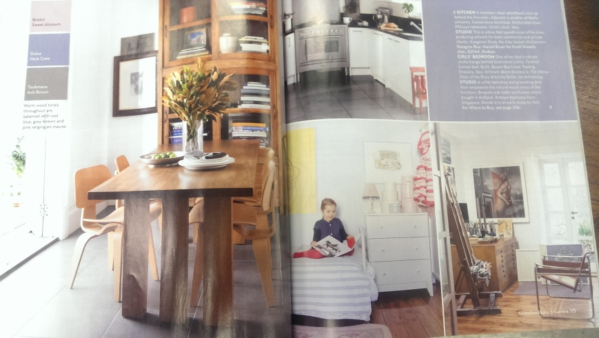 House and Garden's Magazine Spread