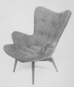 Original Grant Featherston 1951 designed R160 Contour Lounge Chair